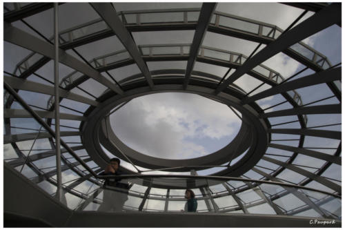 Berlin, le dôme du Reichstag